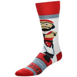 For Bare Feet Tampa Bay Buccaneers Youth Mascot Bobble Head Quarter-Length Socks