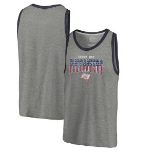 Men's Tampa Bay Buccaneers Freedom Tri-Blend Tank Top