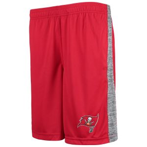 Tampa Bay Buccaneers Youth Red Practice Team Shorts