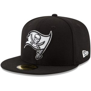 New Era Tampa Bay Buccaneers Black B-Dub 59FIFTY Fitted Hat