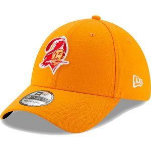 New Era Tampa Bay Buccaneers Orange Team Classic Throwback 39THIRTY Flex Hat