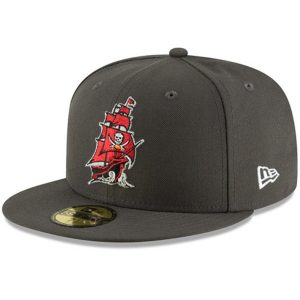New Era Tampa Bay Buccaneers Pewter Omaha 59FIFTY Hat