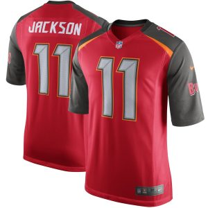 Nike DeSean Jackson Tampa Bay Buccaneers Red Game Jersey