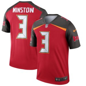 Nike Jameis Winston Tampa Bay Buccaneers Red Legend Jersey