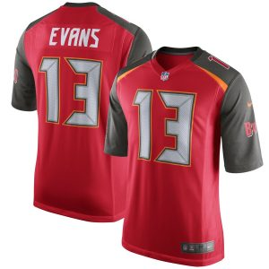 Nike Mike Evans Tampa Bay Buccaneers Red Game Jersey
