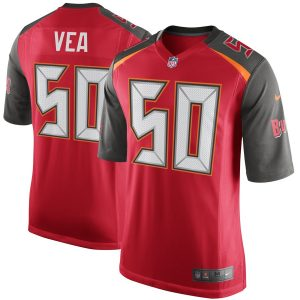 Nike Vita Vea Tampa Bay Buccaneers Red Game Jersey