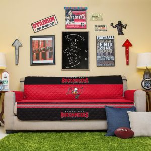 Tampa Bay Buccaneers Red Sofa Protector