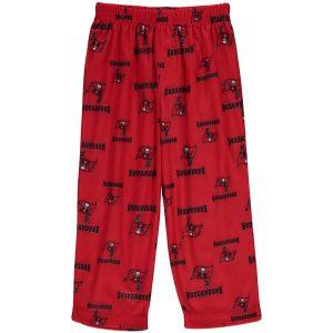 Tampa Bay Buccaneers Toddler Red Allover Print Pajama Pants
