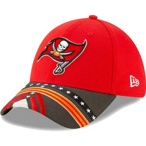 Tampa Bay Buccaneers New Era 2019 NFL Draft On-Stage Official 39THIRTY Flex Hat