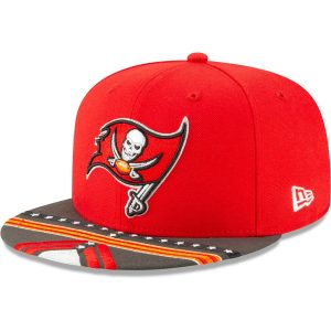 Tampa Bay Buccaneers New Era 2019 NFL Draft On-Stage Official 9FIFTY Adjustable Snapback Hat
