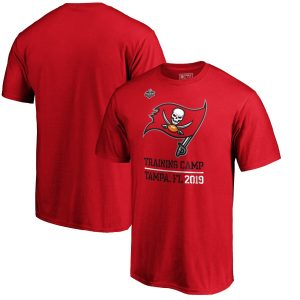 Men's Tampa Bay Buccaneers Red 2019 NFL Training Camp Locale T-Shirt