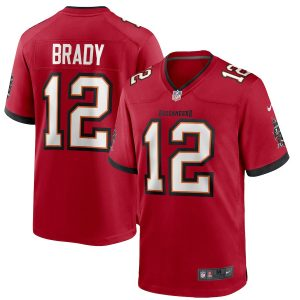 Tom Brady Tampa Bay Buccaneers Nike Game Jersey – Red
