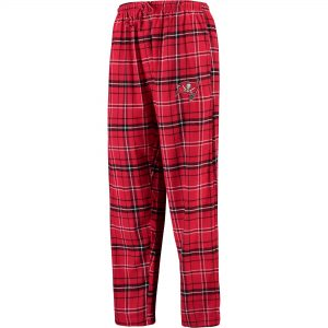 Concepts Sport Tampa Bay Buccaneers Ultimate Plaid Flannel Pants