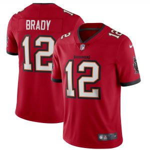 Nike Tom Brady Tampa Bay Buccaneers Red Vapor Limited Jersey