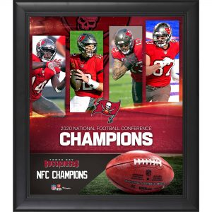 Tampa Bay Buccaneers Framed 2020 NFC Champions Collage