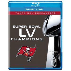 Tampa Bay Buccaneers Super Bowl LV Champions DVD/Blu-Ray Combo Set