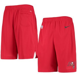 Tampa Bay Buccaneers Youth Red Knit Sleep Shorts